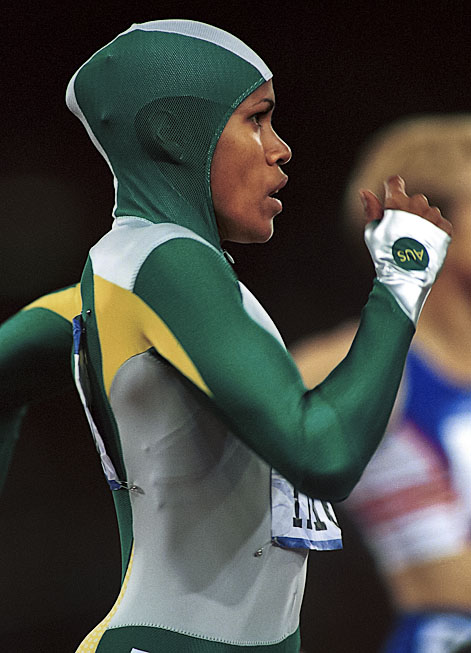 © Sport the library/Greg Ford Sydney 2000 Olympic Games Athletics, Day 10, Women's 400m Final Cathy Freeman, Australia