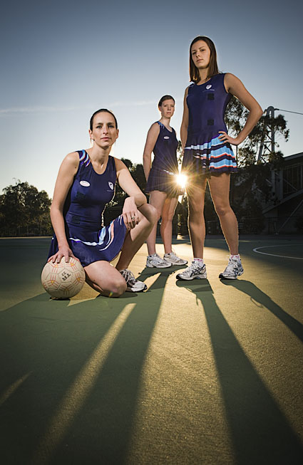 Monash University Central Netball Team Waverley Netball Centre